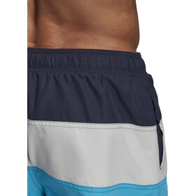 adidas Colourblock SL Pantalones Cortos Hombre, legend ink/grey two/shock cyan